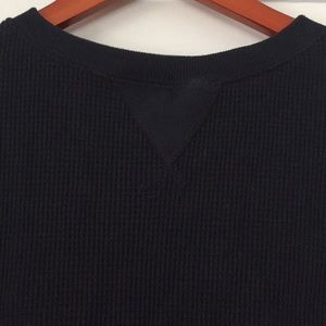 Abercrombie & Fitch Tops - A&F Waffle Knit Top with Raw Edge Hem
